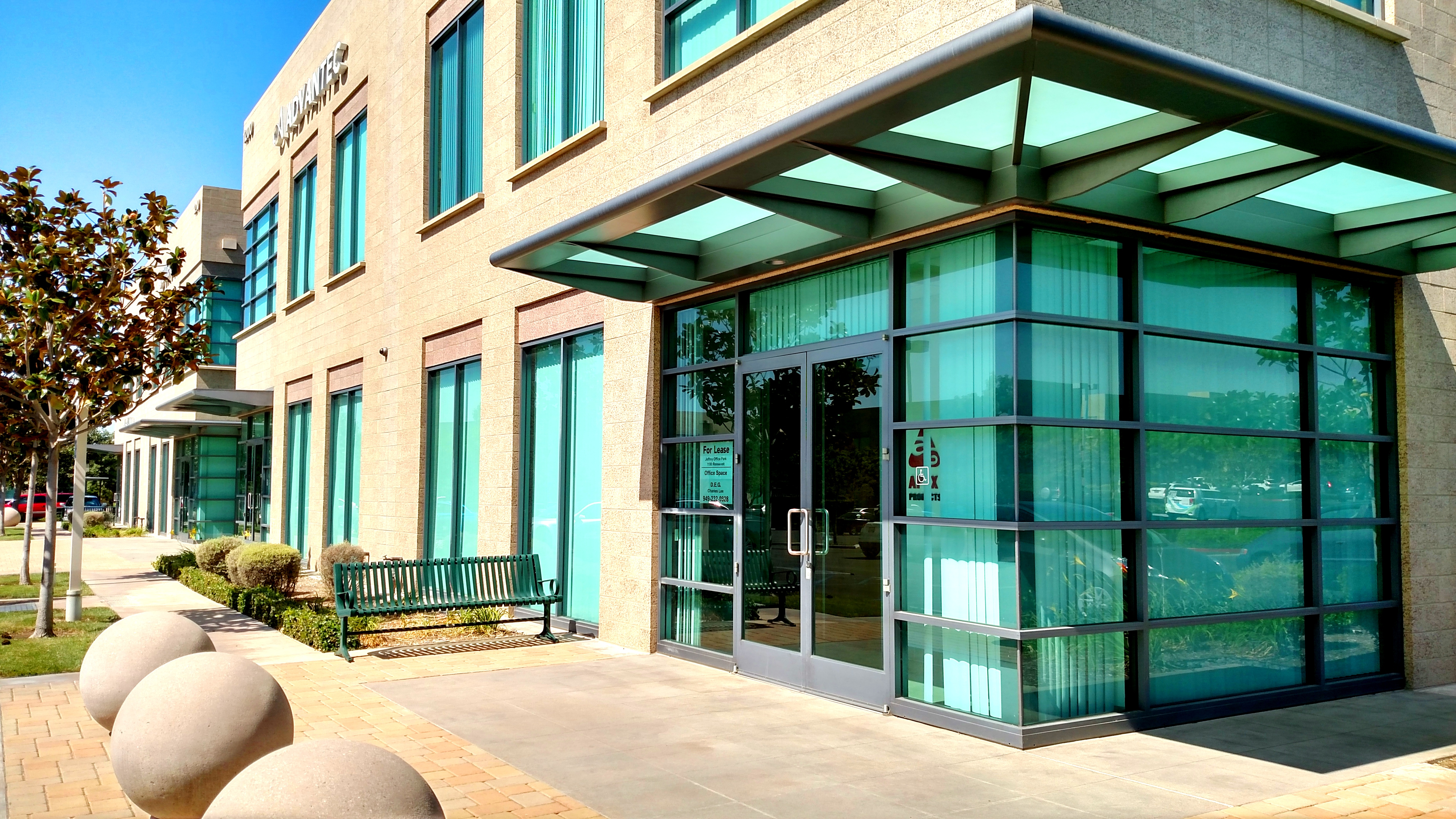 irvine class a office suite for lease deg